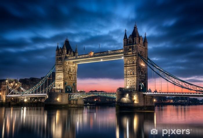 Tower Bridge Londres Angleterre Pixerstick Sticker -