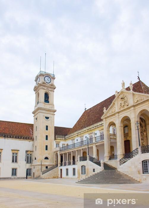 Fototapeta winylowa Uniwersytetu w Coimbra, Portugalia - Europa