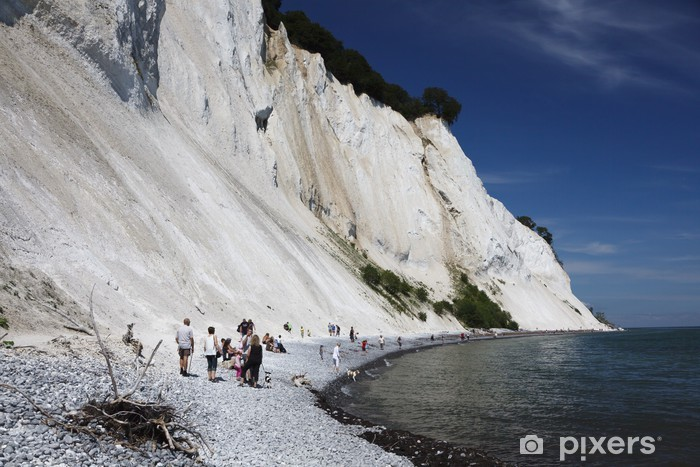 Nálepka Pixerstick Cliffs MON - Hory