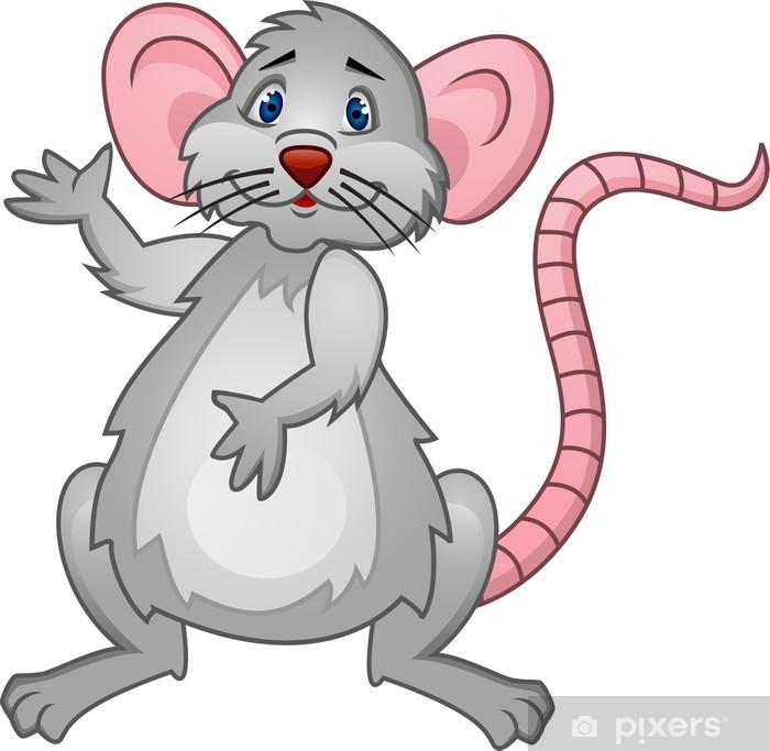 Vinilo Pixerstick Rata. Dibujos animados • Pixers ...