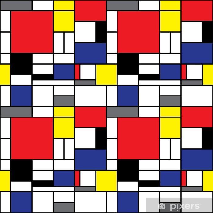 Fototapeta winylowa Powtarzając Mondrian tło - Style