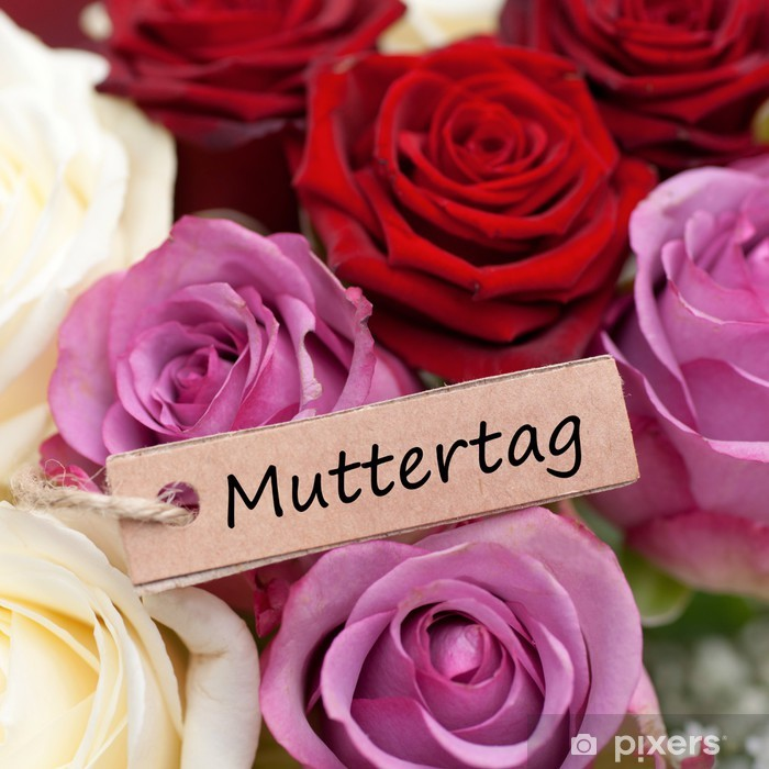 Sticker Pixerstick Muttertag - Fêtes internationales