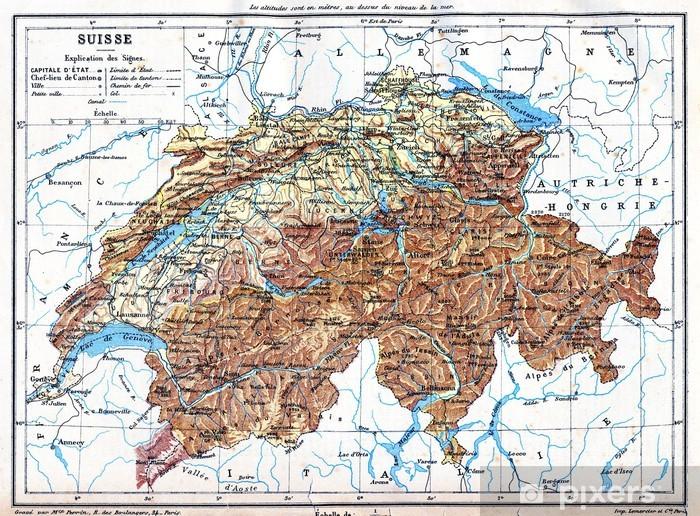 Sveitsin Kartta Tapetti Pixers Elamme Muutoksille