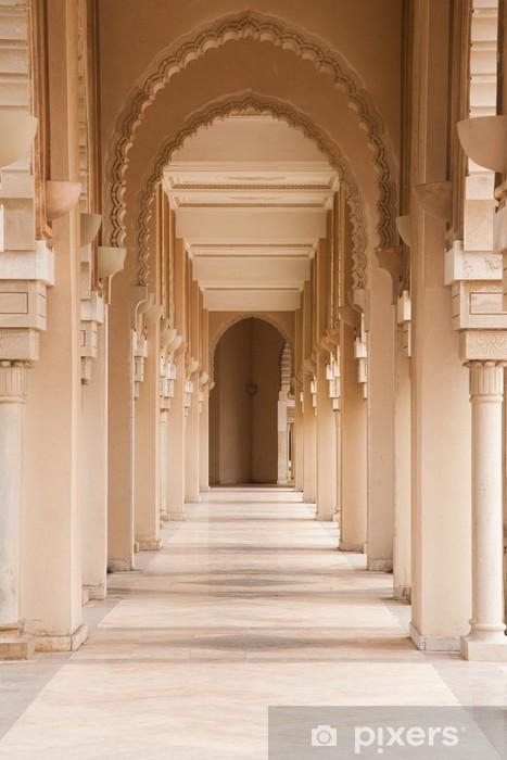 columns near Hassan II mosque Vinyl Wall Mural - Themes