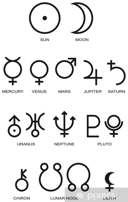 Symbole Der Planeten