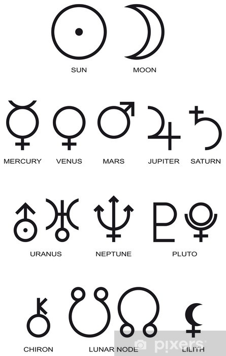 Planetensymbole