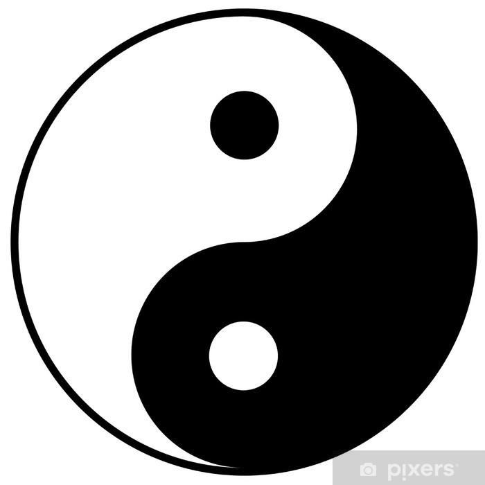 Fototapeta samoprzylepna Yin yang symbol - Style