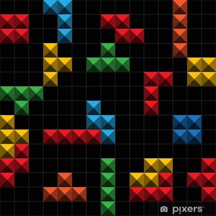 Afwasbaar Fotobehang Achtergrond OA kleur spel cijfers - Onderwijs