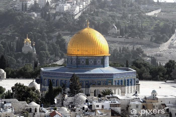 Pixerstick Dekor Klippdomen i Jerusalem, Israel - Mellanöstern