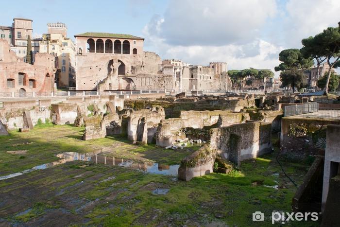 Forum Romano, Rome, Italy. Pixerstick Sticker - Themes