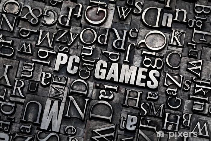Nálepka Pixerstick PC hry - Počítače