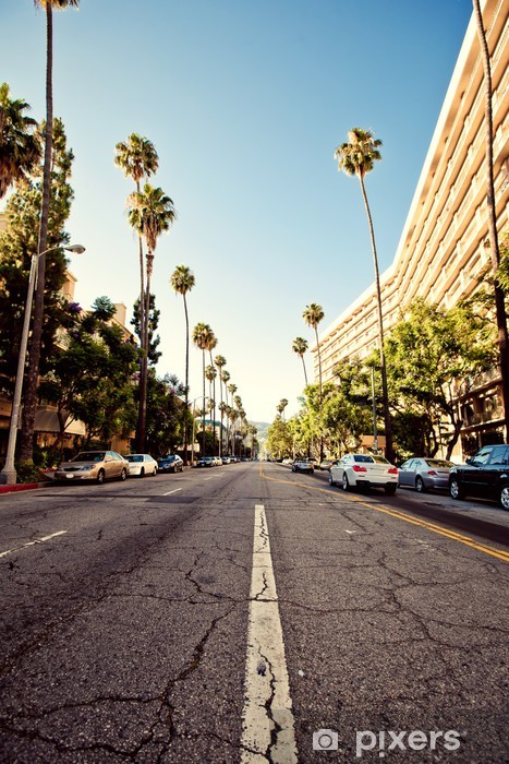 Vinilo Pixerstick Calles de Palma de Beverly Hills - Temas