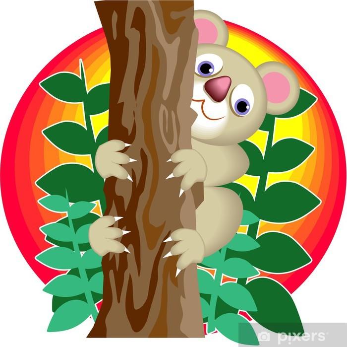 Sticker Pixerstick Ours de koala - Mammifères