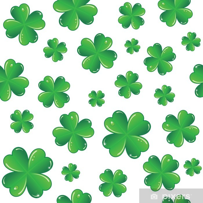 Poster Nahtlose St. Patricks Tag Hintergrund - Hintergründe
