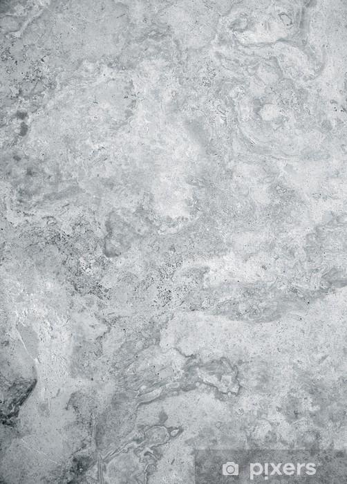 Adesivo Pixerstick Trama di marmo grigio - Materie prime