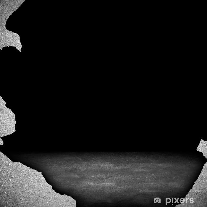 Fototapeta winylowa Ściana przerwane - Przemysł ciężki