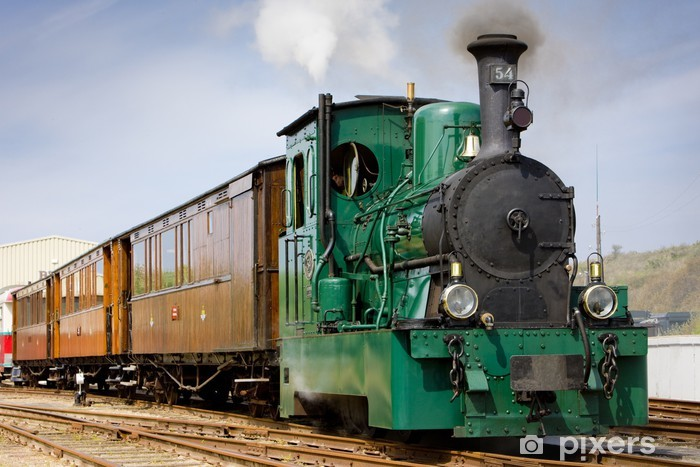Naklejka Pixerstick Tramwaj parowy, RTM, Ouddorp, Holandia - Tematy