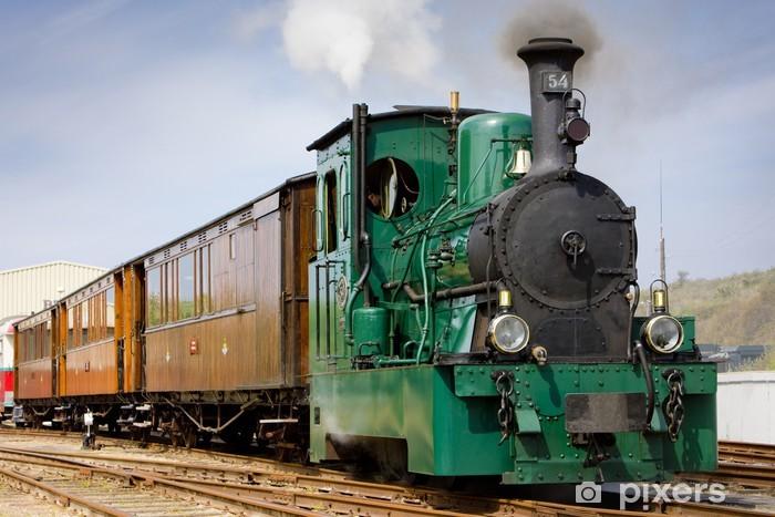 Papier peint vinyle Tram à vapeur, RTM, Ouddorp, Pays-Bas - Thèmes