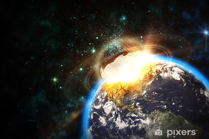 Asteroid einschlag