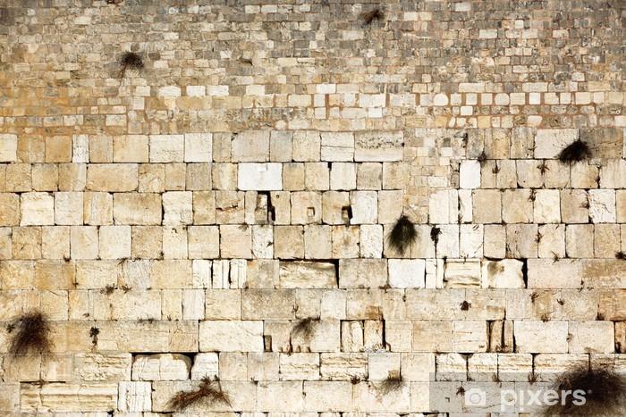 Waling Wall, Kotel, Western Wall, Jerusalem, Israel Vinyl Wall Mural - Themes