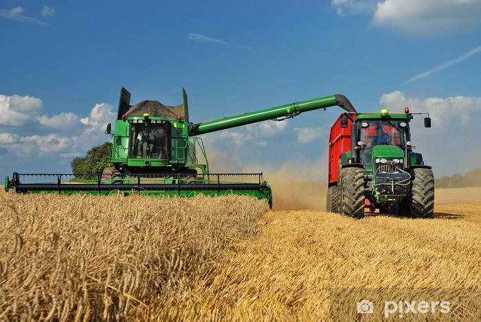 Sticker Pixerstick Getreideernte - Agriculture