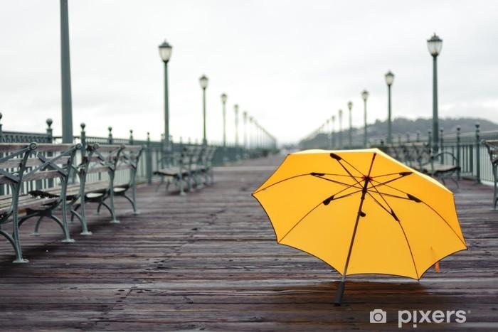 Sticker Pixerstick Pier après la pluie - Thèmes