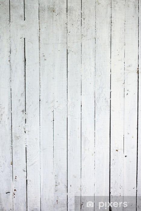 Sticker Pixerstick Bois patiné blanc - Styles