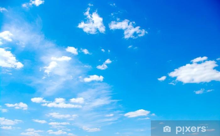 Naklejka Pixerstick Niebieskim tle nieba - Niebo