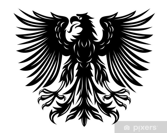 Fotomural Estándar Negro águila - Vinilo para pared
