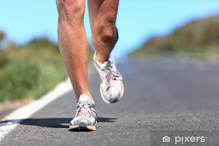 Fotomural El calzado para correr - primer corredor piernas • Pixers ... fac04c25fa938