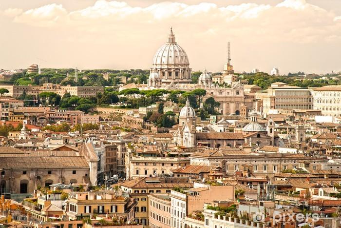 Papier peint vinyle Saint-Pierre, à Rome, en Italie. - Thèmes