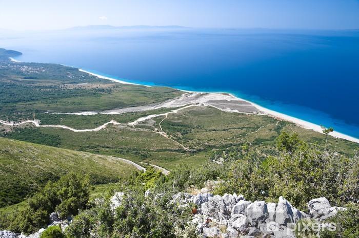 Vinilo Pixerstick Costa del sur de Albania - Europa