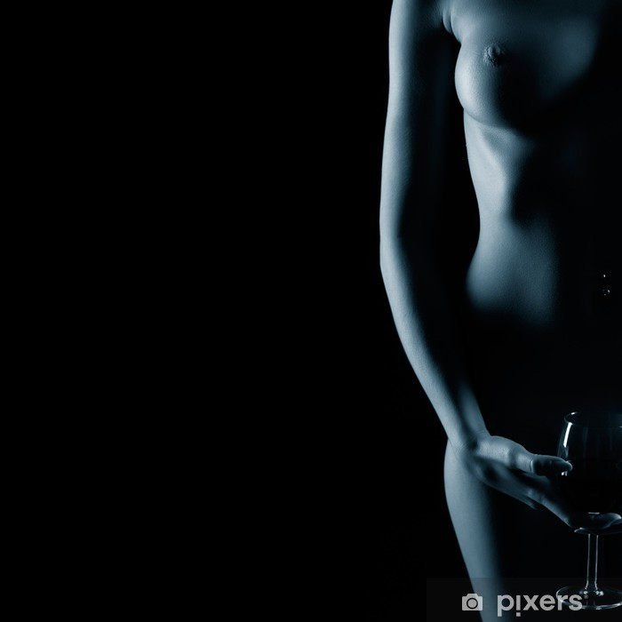 Naklejka Pixerstick Piękna kobieta nago - Tematy