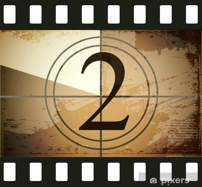 Plakat w ramie Grunge film countdown - Tematy