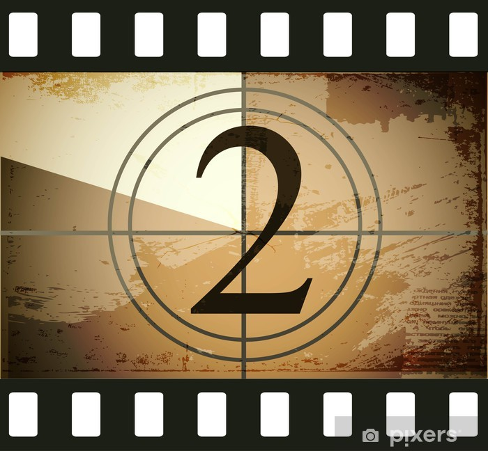 Grunge film countdown Poster - Themes