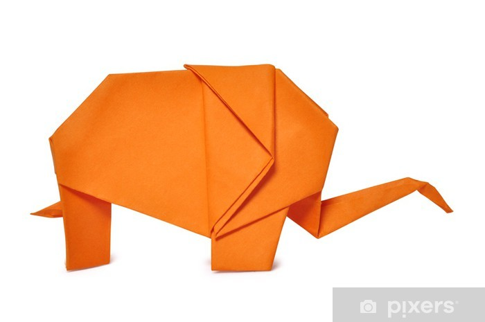 Origami Elephant Png / Follow the steps below to make this easy origami elephant.