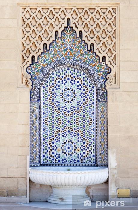 Vinilo para Nevera Fuente marroquí - África