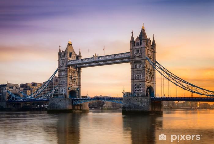Fotomural Estándar Tower Bridge Londres Inglaterra - Temas