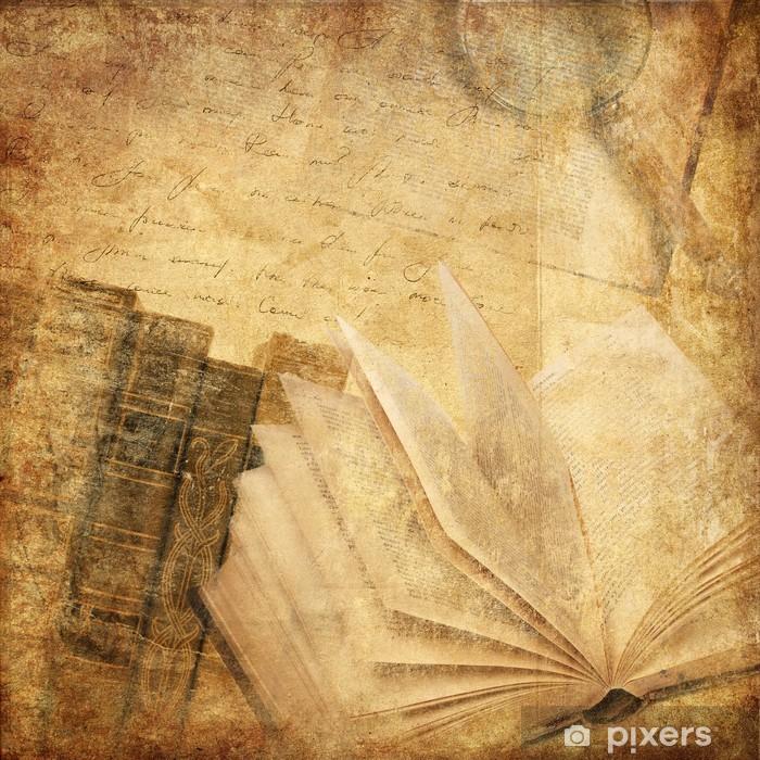 Papier peint vinyle Livres ancien - Styles