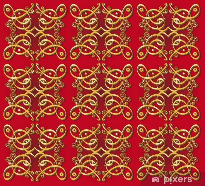 Sticker Pixerstick Papier peint décoratif oriental fond - Arrière plans