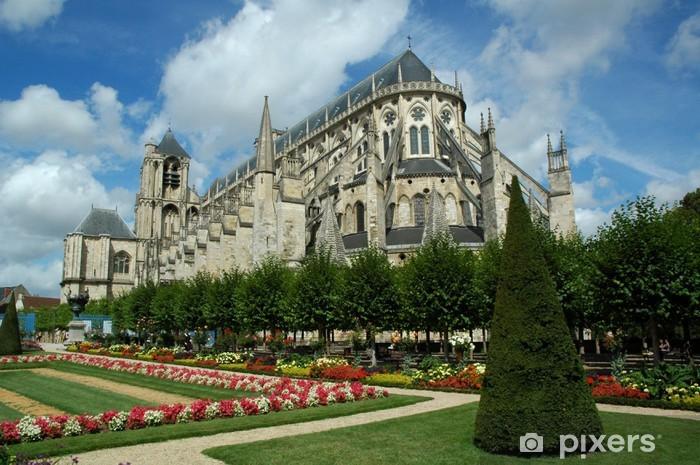 Naklejka Pixerstick Poza katedry św Stefana w Bourges - Europa