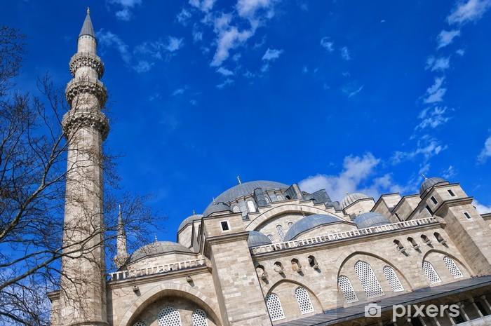 Sticker Pixerstick Suleiman Mosque 09 - Moyen Orient