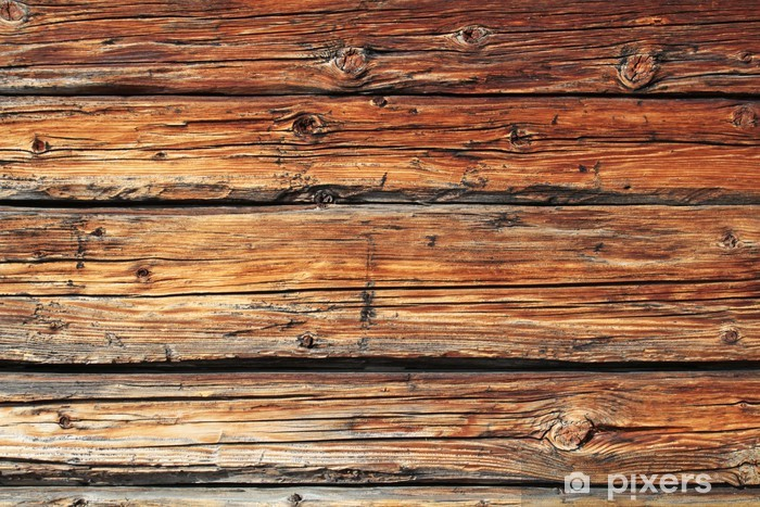 altes Holz Vinyl Wall Mural - Themes