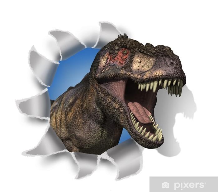 Papier peint vinyle T-Rex Rips dans votre document! - Autres Autres