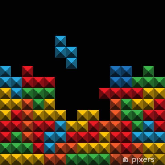 Zelfklevend Fotobehang Achtergrond OA kleur spel cijfers - Bestemmingen