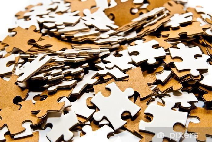 Sticker Pixerstick Pièces du puzzle - Cartes de vœux