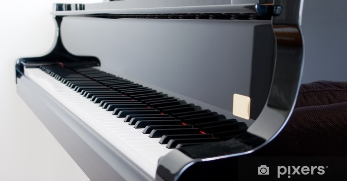 Grand Piano Vinyl Wall Mural - Piano