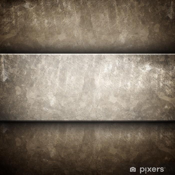 Vinylová fototapeta Hrubý plech - Vinylová fototapeta