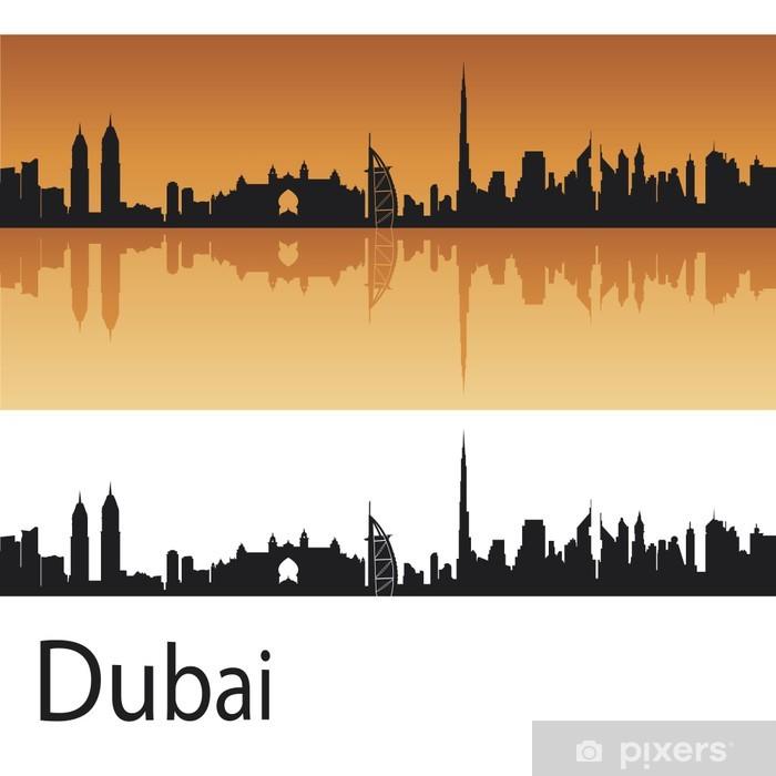 Plakat Dubai skyline - Bliski Wschód