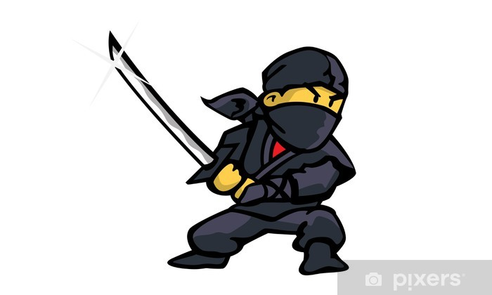 Naklejka Pixerstick Ninja - Inne uczucia